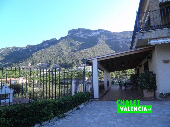 Espectacular terraza con vistas al mar Cullera Valencia