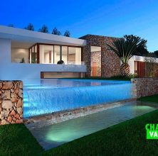 New real estate development of luxury villa in Javea
