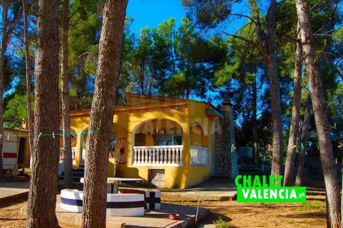 Chalet con pinada en Chiva