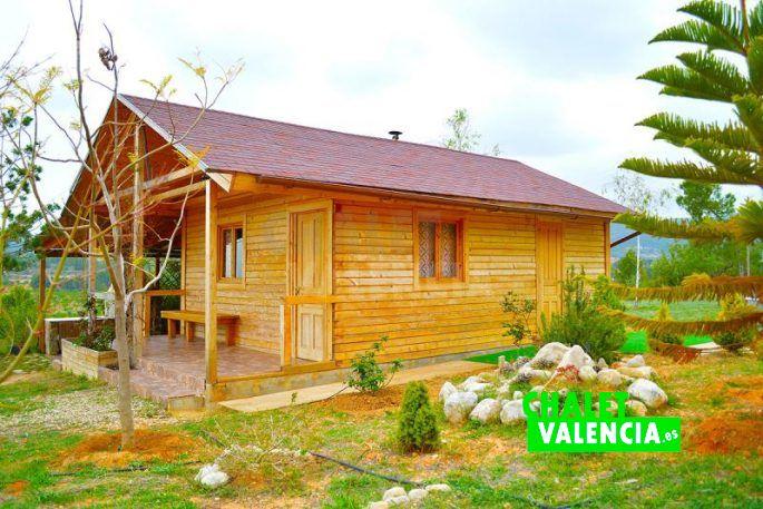 Bonita casa de madera Chiva