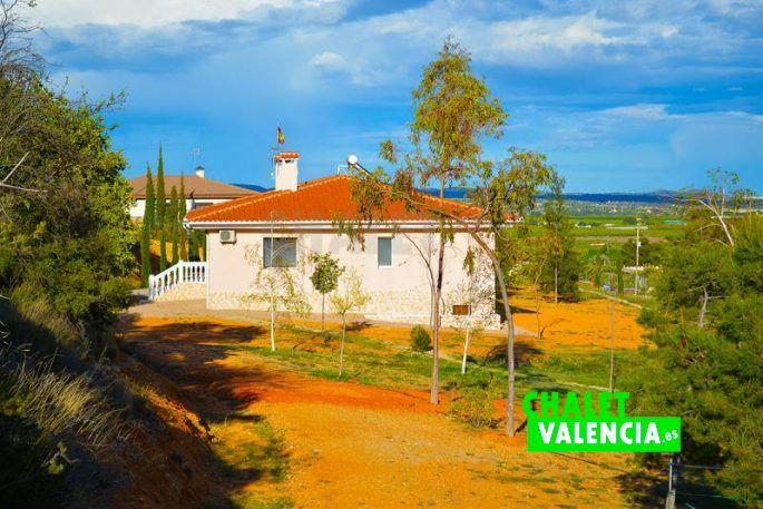Casa grande Chiva con bonitas vistas
