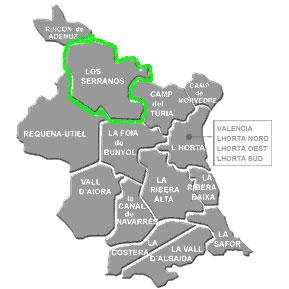 Chalets comarca Los Serranos
