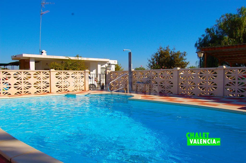 Chalet con piscina La Conarda