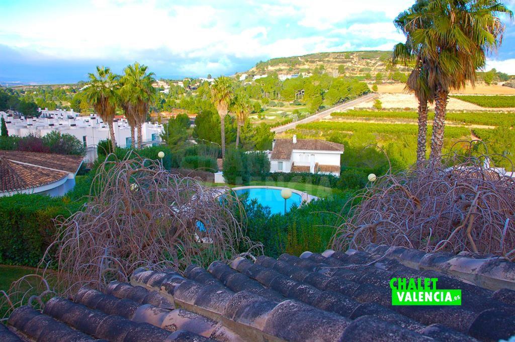Chalet campo golf El Bosque Chiva Valencia