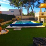 Villa for rent with swimming pool in Montealcedo