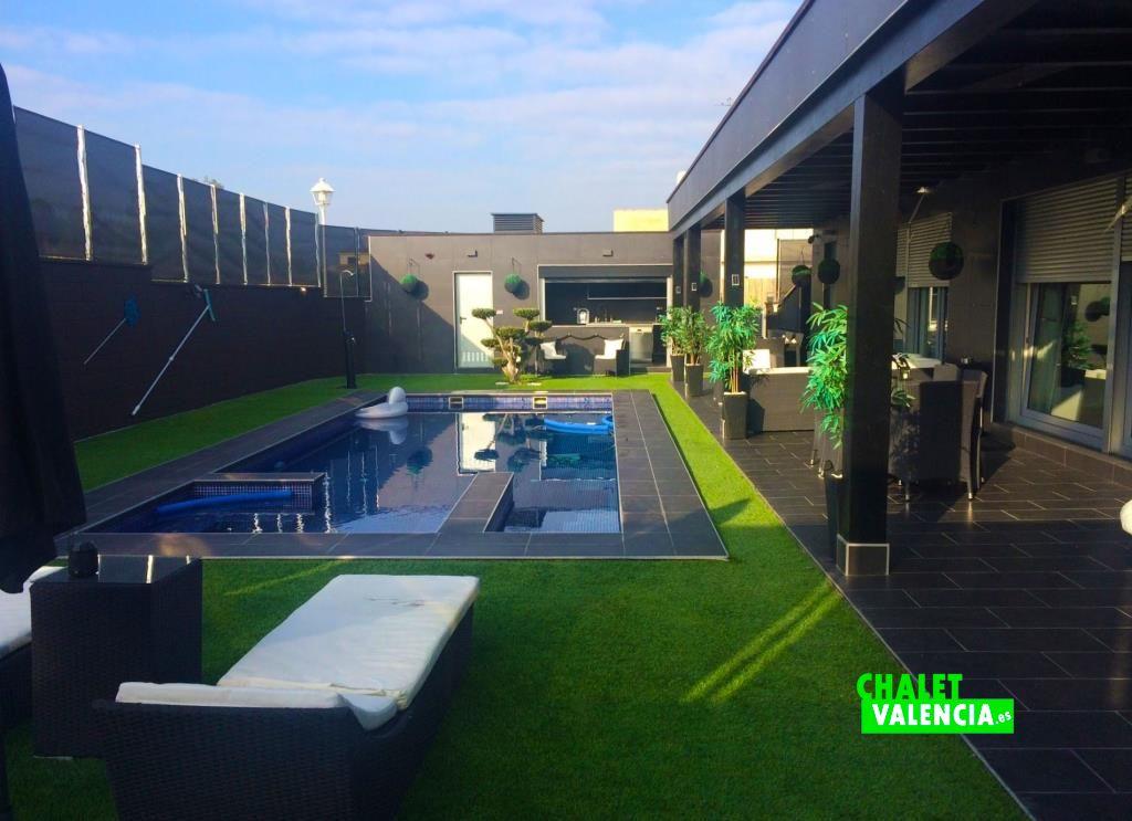 Chalet Valencia moderno y espectacular
