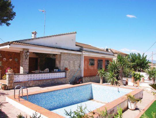 Chalet con piscina Taules La Eliana Valencia