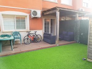 Zona privada chalet Vista Calderona