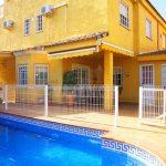 Chalet pareado con piscina en Maravisa La Pobla
