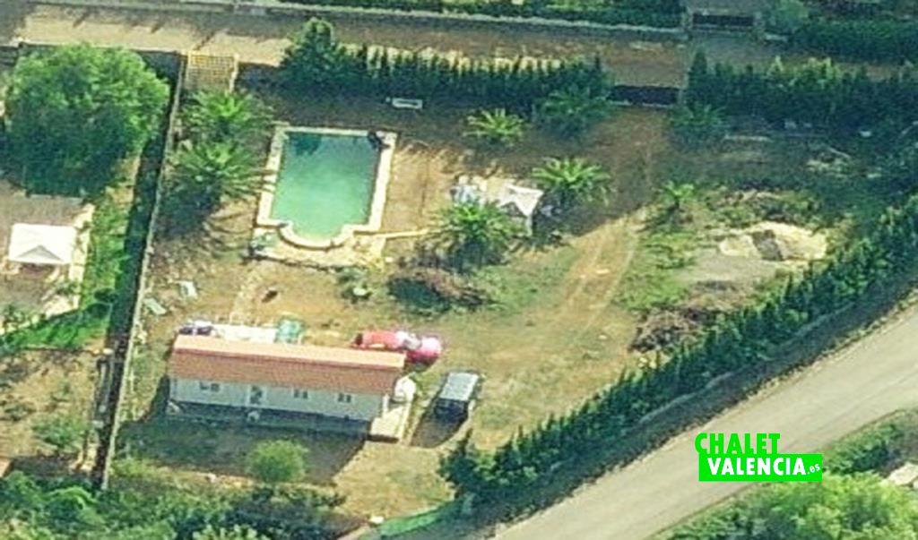 Villa with mobilhome Valencia