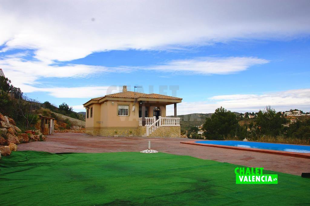 Chalet con piscina Altury Turis Valencia
