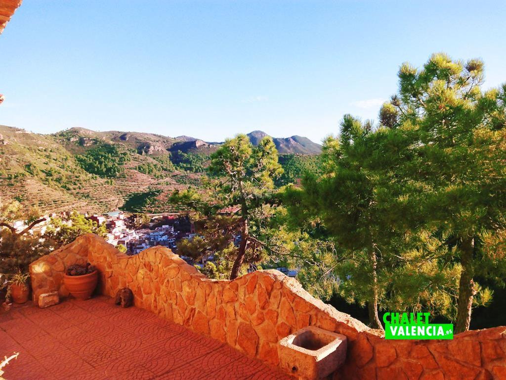 Chalet pueblo Gatova Valencia