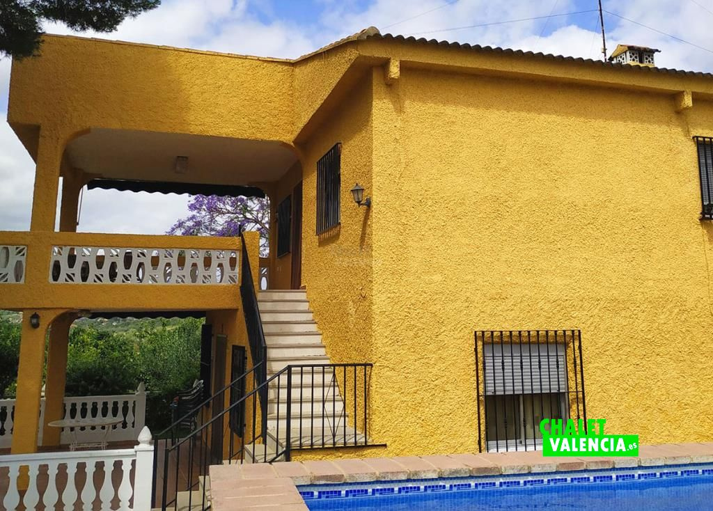Chalet con piscina Masia Pavias Montserrat
