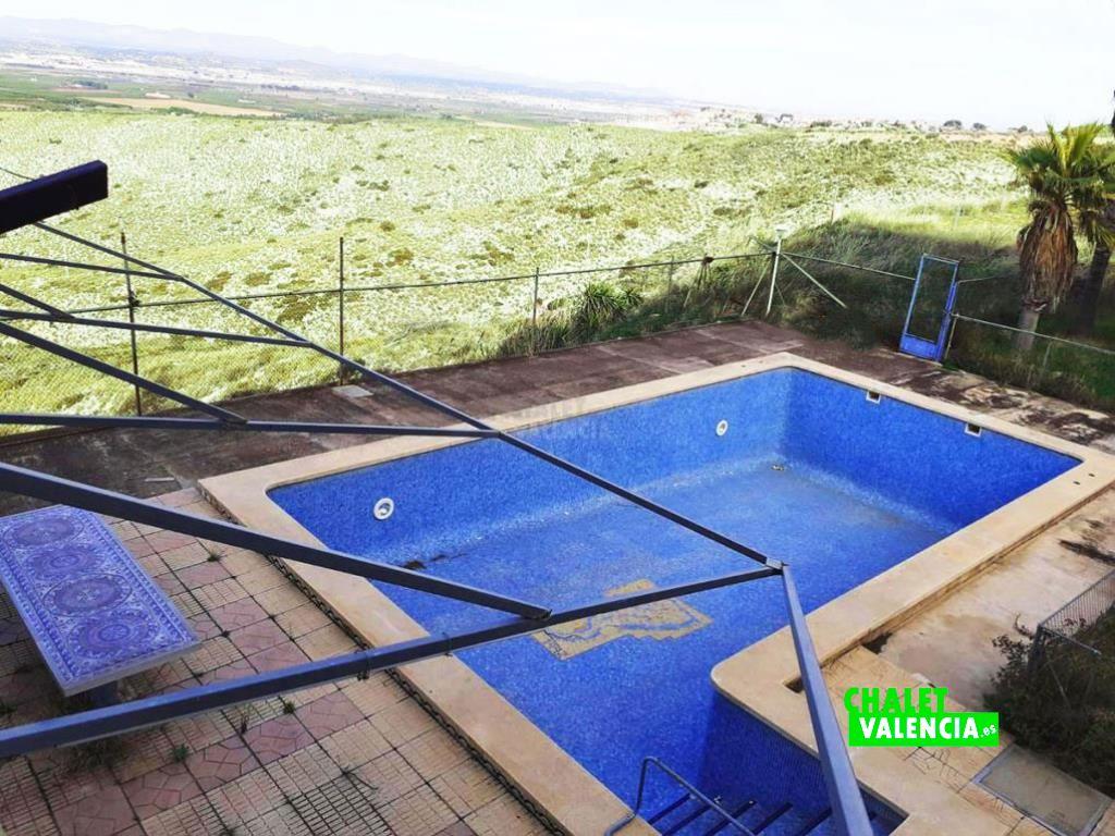 Chalet con piscina infinita Calicanto Torrent