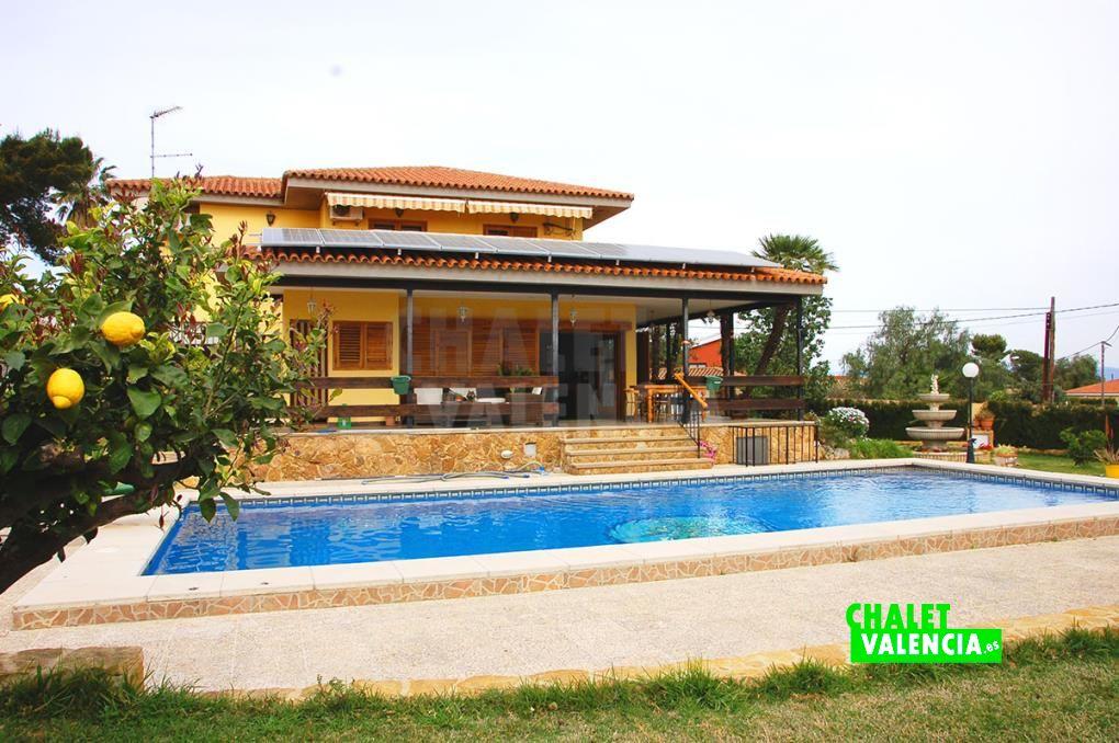 Chalet con casa invitados Valencia