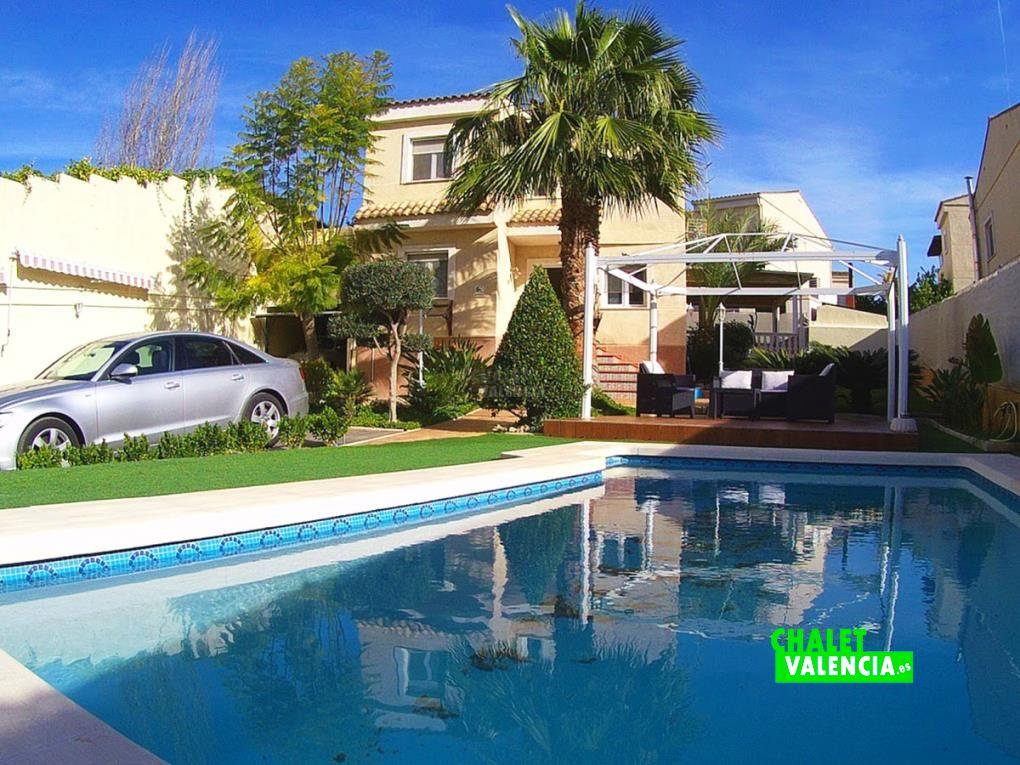 Chalet La Canyada Paterna con piscina