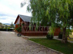 Casa de madera y piscina Valencia