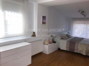 Dormitorio moderno chalet Torrent Valencia