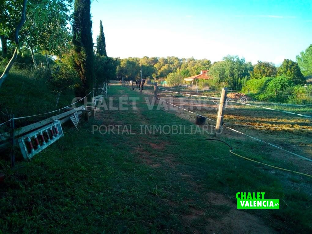 Chalet en espacio natural protegido Vilamarxant
