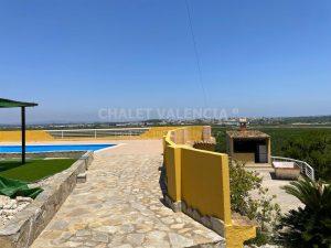 Chalet con piscina infinita Valencia